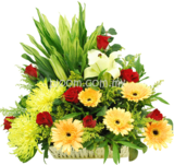 Flower Basket 14