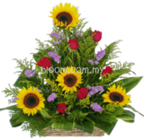 Flower Basket 09