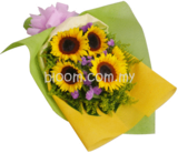Sunflower Hand Bouquet 01