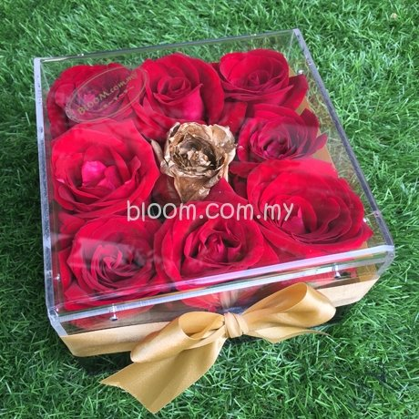 Acrylic Flower Box 11