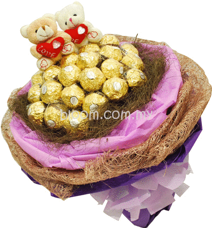 Bear With Ferrero Rocher 04
