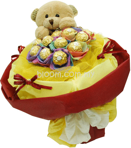 Bear With Ferrero Rocher 05