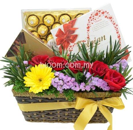 Chocolate Basket 10