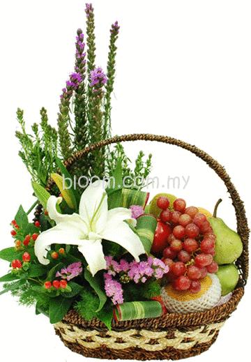 Flower Arrangements Gift Baskets : Flower in pulau langkawi florist gift
