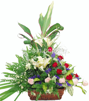 Flower Basket 22