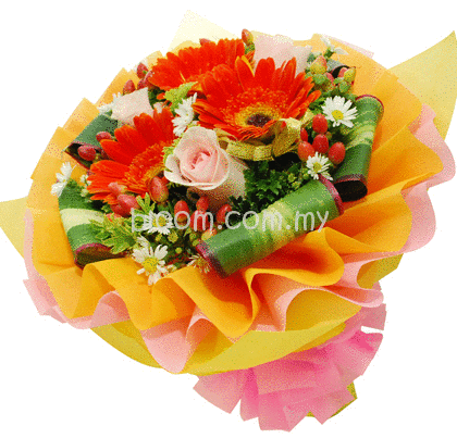 Mix Hand Bouquet 01