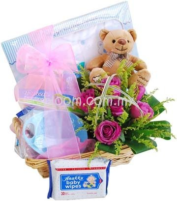 Malaysia baby gift toys flower delivery kuala lumpur bloom new born gifts 12 negle Gallery
