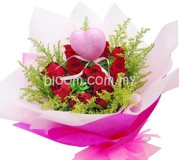 Rose Hand Bouquet 13