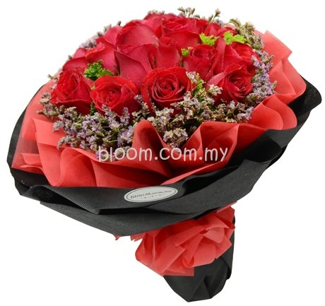 Rose Hand Bouquet 65